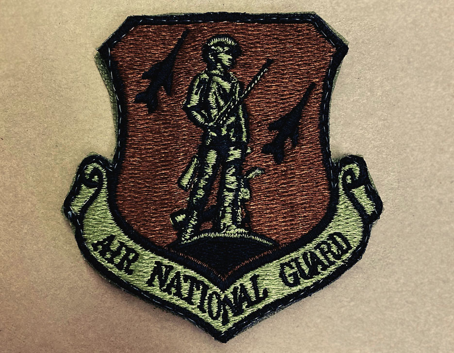 AIR NATIONAL GUARD OCP PATCH from Conrad Embroidery Company.