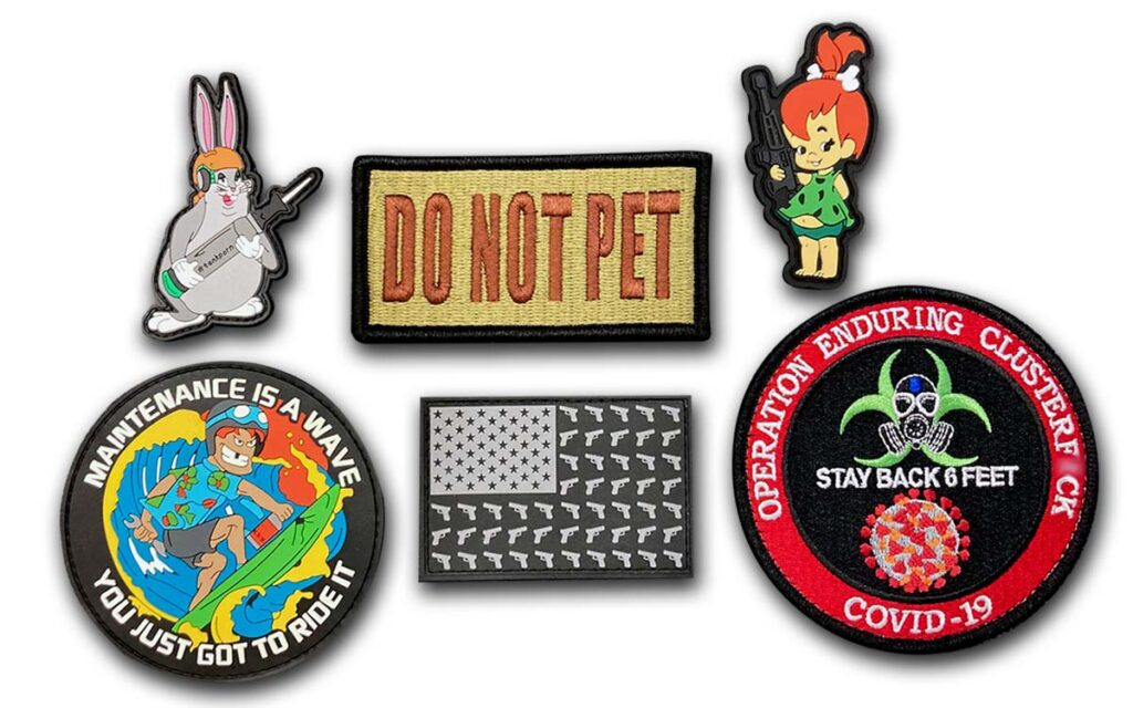 Morale-Boosting Patches from Conrad Embroidery Co.